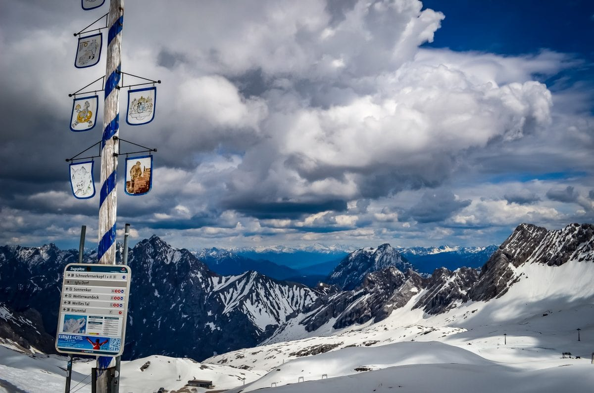 Photo POSTcard: Germany's Highest May Pole