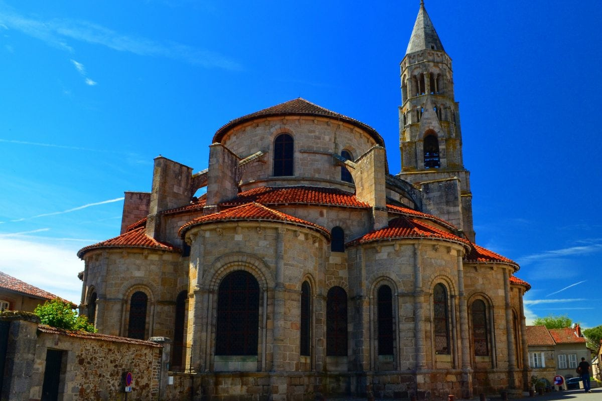 PhotoPOSTcard: Beautiful Saint-Leonard-de-Noblat church