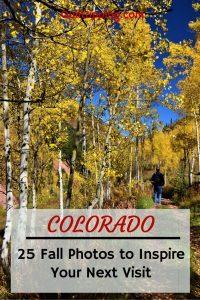 25 photos to inspire an autumn trip to Colorado #colorado #goldaspens #autumn #autumnincolorado