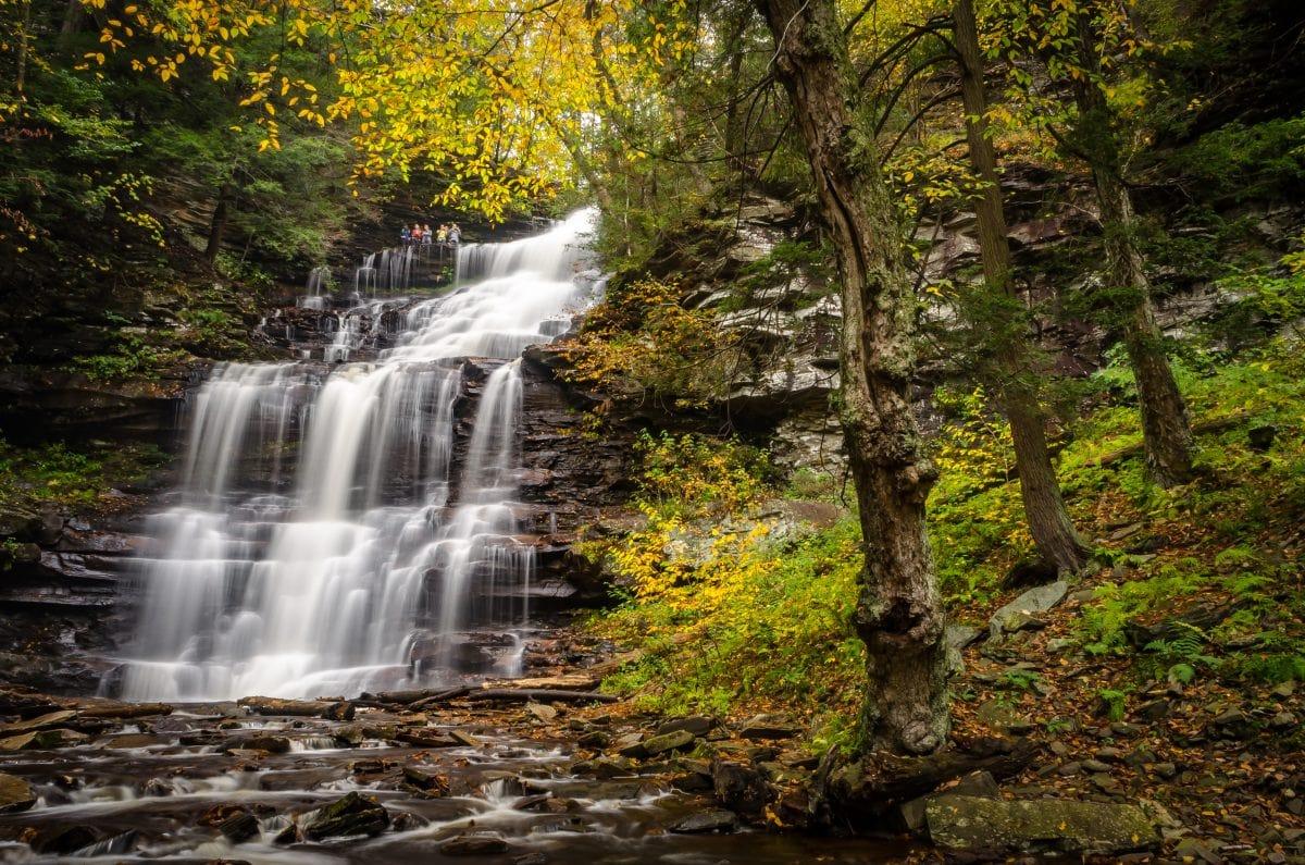 Hiking Ricketts Glen in Pennsylvania's Prettiest State Park