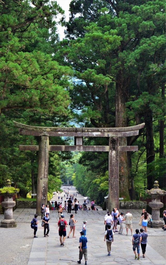 Toshogu Ishidorii Torii