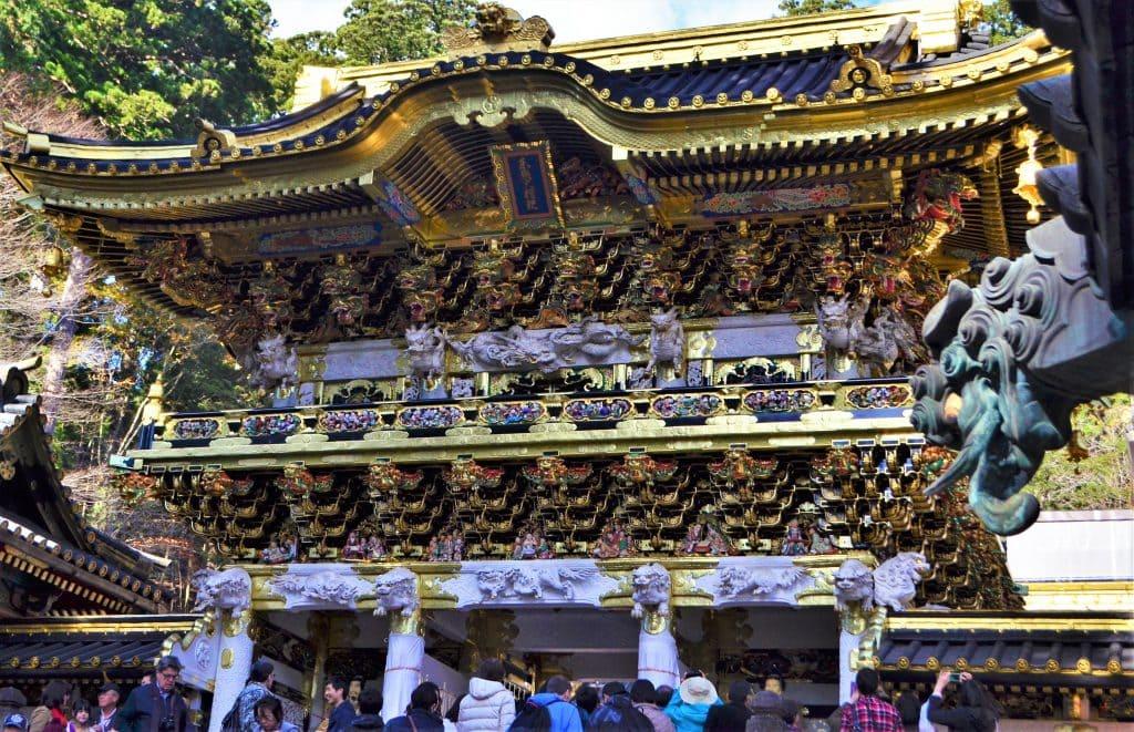 Toshogu Yomeimon gate
