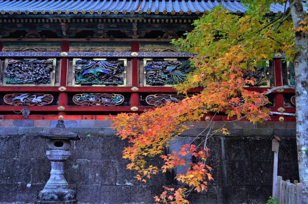 Toshogu Corridor panels