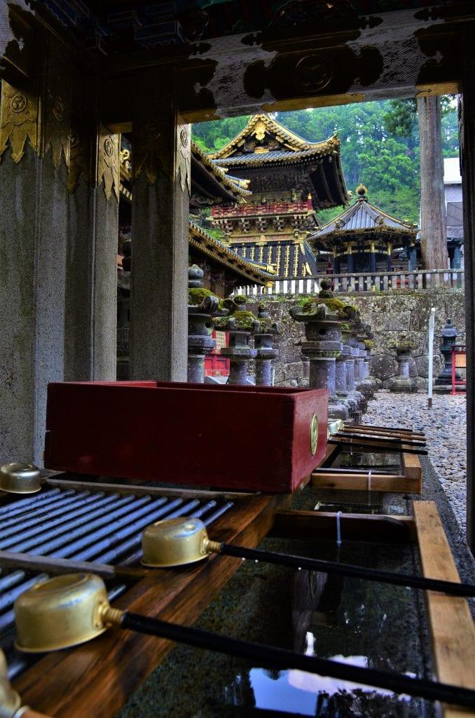 Toshogu water purification building