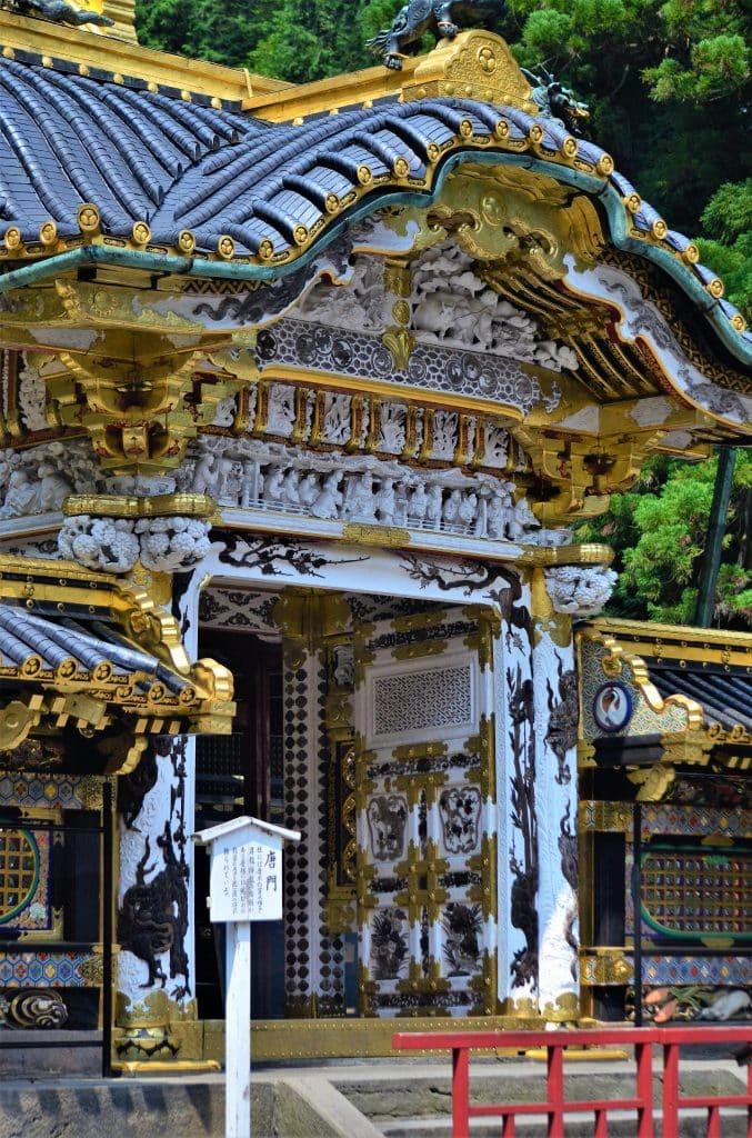 Toshogu Karamon Gate detail