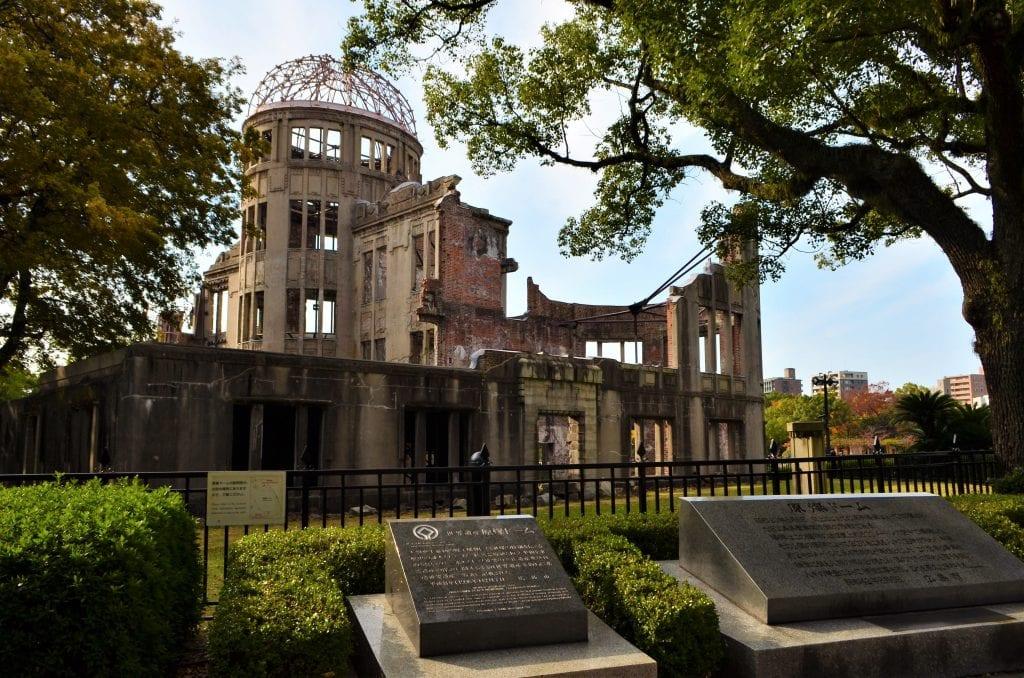 The Hiroshima A Bomb Dome UNESCO site