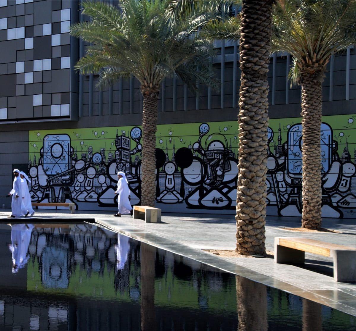 Finding the Best Dubai Street Art