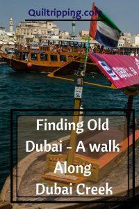 Take a walk along Dubai Creek to find old Dubai #dubai #dubaicreek #alfahidi #abra #goldsouk