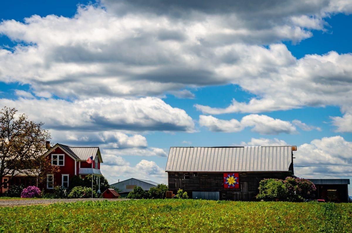 The Reichen Century Farm on the Tualaltin Quilt Barn Trail