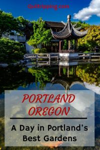 How to spend a day exploring Portland, OR gardens #portland #ooregon #gardens