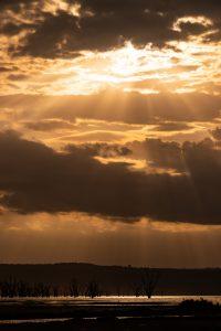 Sunset over Lake Nakuru