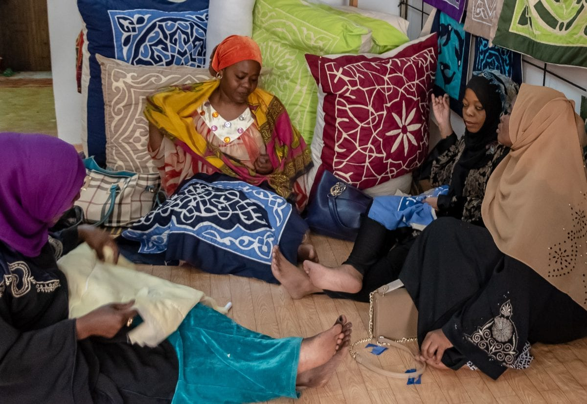PhotoPOSTcard: Sasik Women's Cooperative in Stone Town, Zanzibar