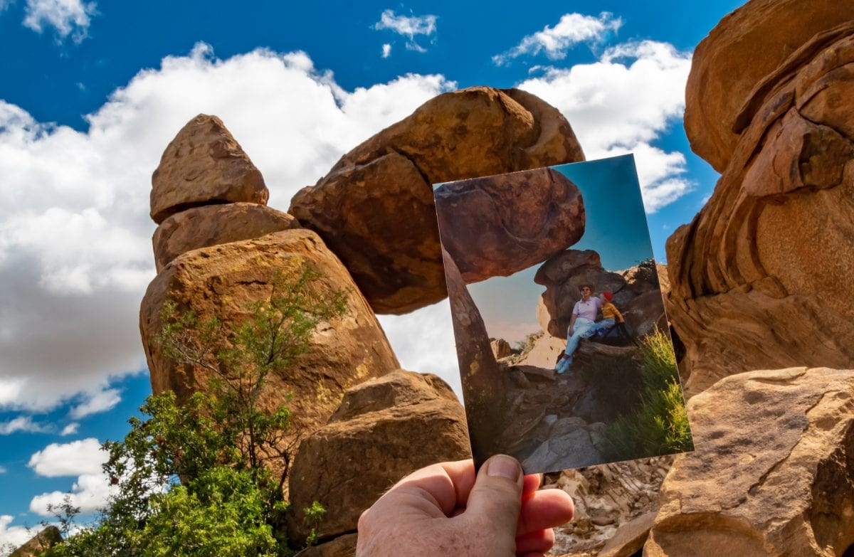 On the Trail to Balanced Rock in Big Bend – Taking a Hike Down Memory Lane