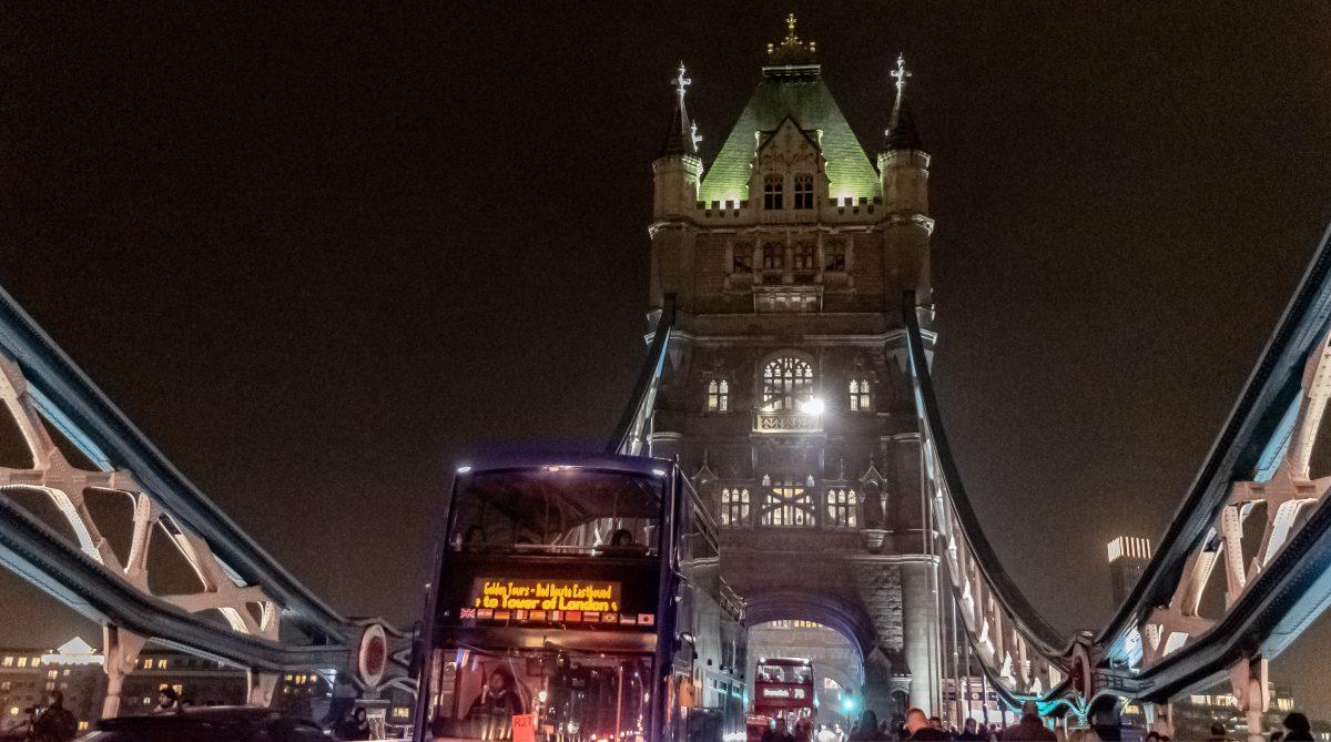 PhotoPOSTcard: The Tower Bridge at Night