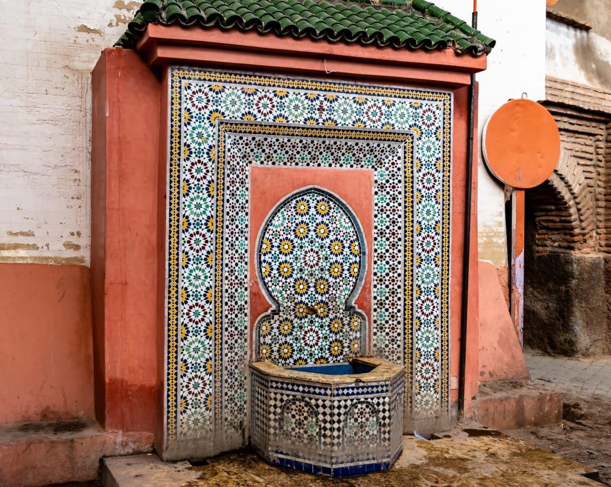 PhotoPOSTcard: Morocco's Zellij Tiles