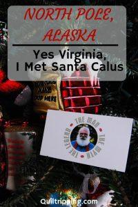 I met Santa in North Pole Alaska #santaclaus #northpole #alaska #northpolealaska