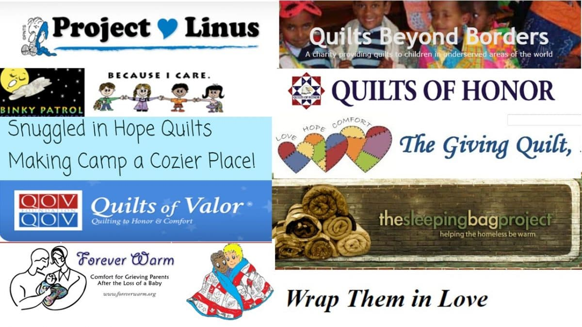 Where to donate quilts for charity