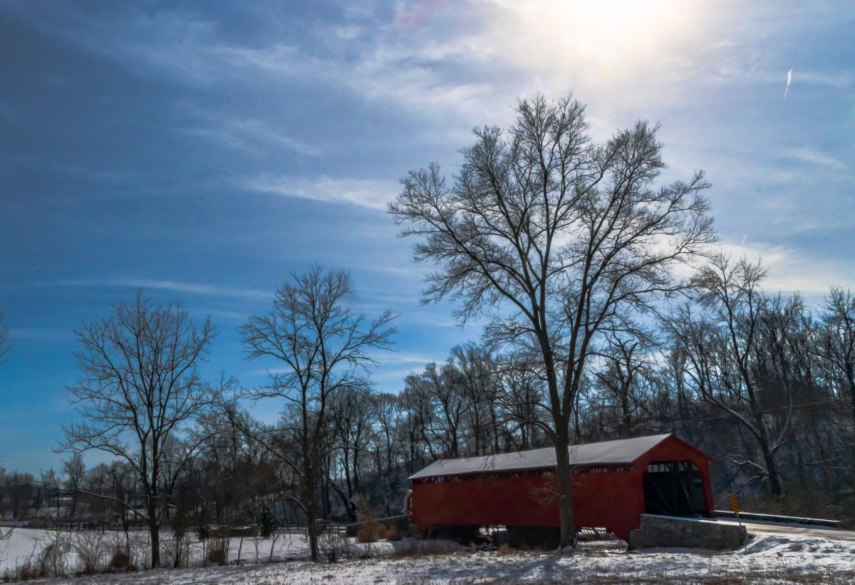 PhotoPOSTcard: The Covered Bridges of Frederick County