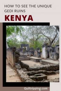 All you need to know to visit the amazing Gedi Ruins on Kenya's coast
