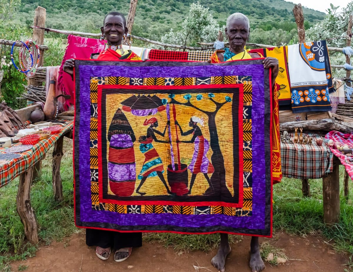 """'This Is Africa"""" – Original Quilt Design"""