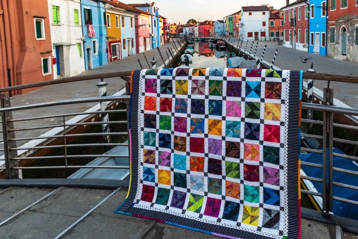 """""""Burano Sampler"""" Quilt – An Original Quilt Design"""
