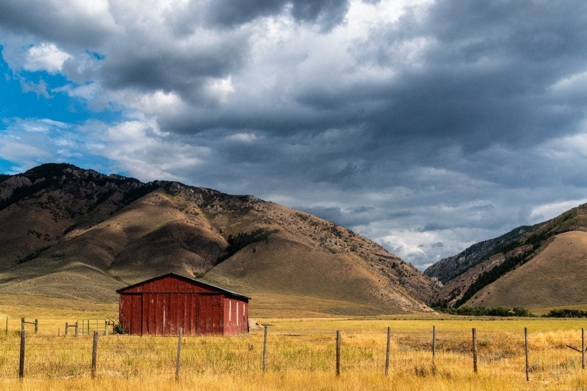 PhotoPOSTcard: Somewhere In Wyoming