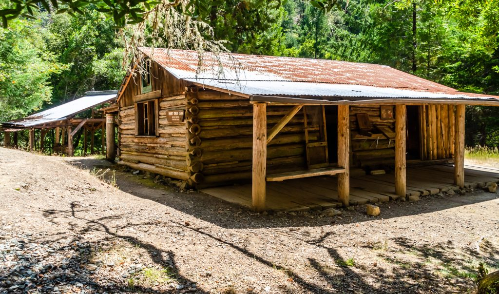 Whiskey Creek cabin