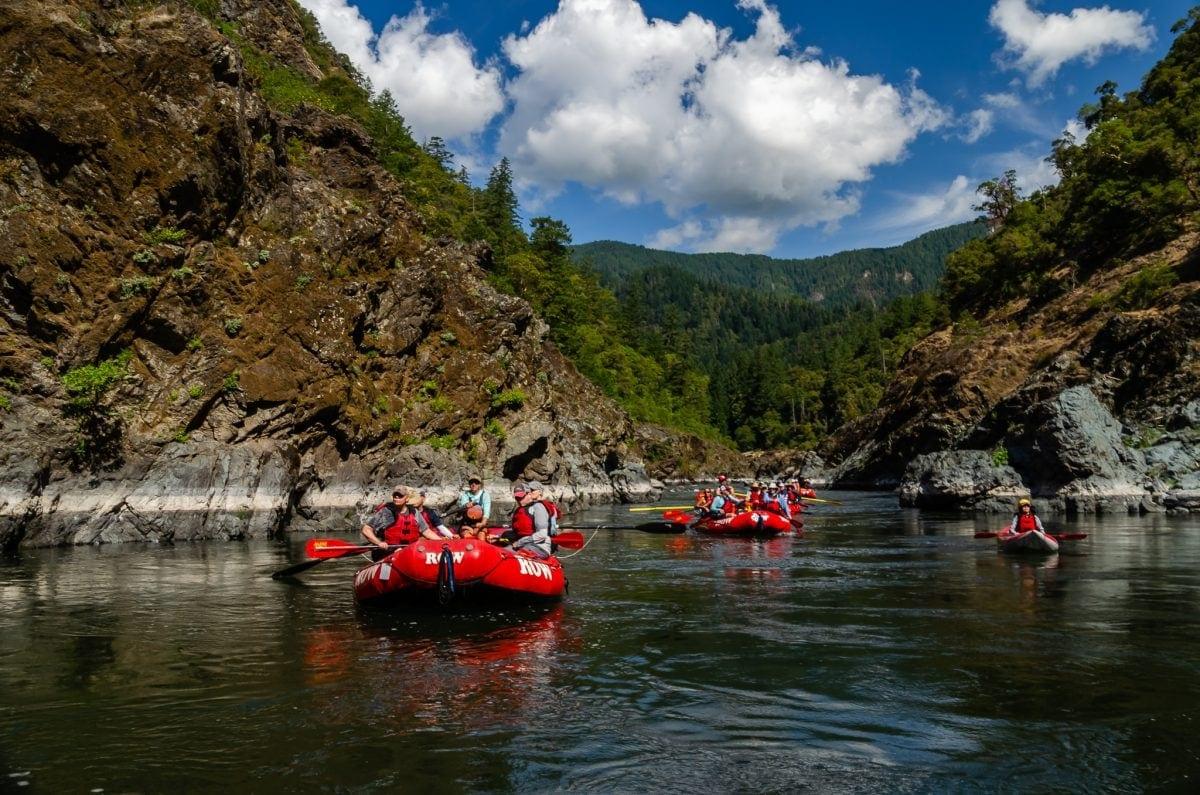 Lodge to Lodge Rogue River rafting trip