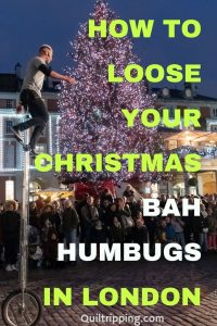Get over you holiday bah humbugs with this list of unique things to do in London at Christmas