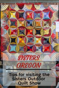The Sisters Outdoor Quilt Show is a fun and unique event that can be enjoyed by all #sisters #quiltshow #oregon