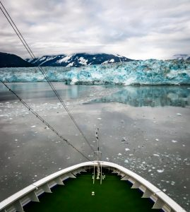 Alaska cruise into Glacier Bay National Park