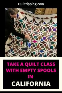 Take a quilting class with Empty Spools Seminars at Asilomar California