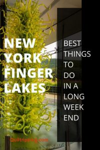 Explore art, history and award winning wines in the Finger Lakes Region of New York on a getaway weekend