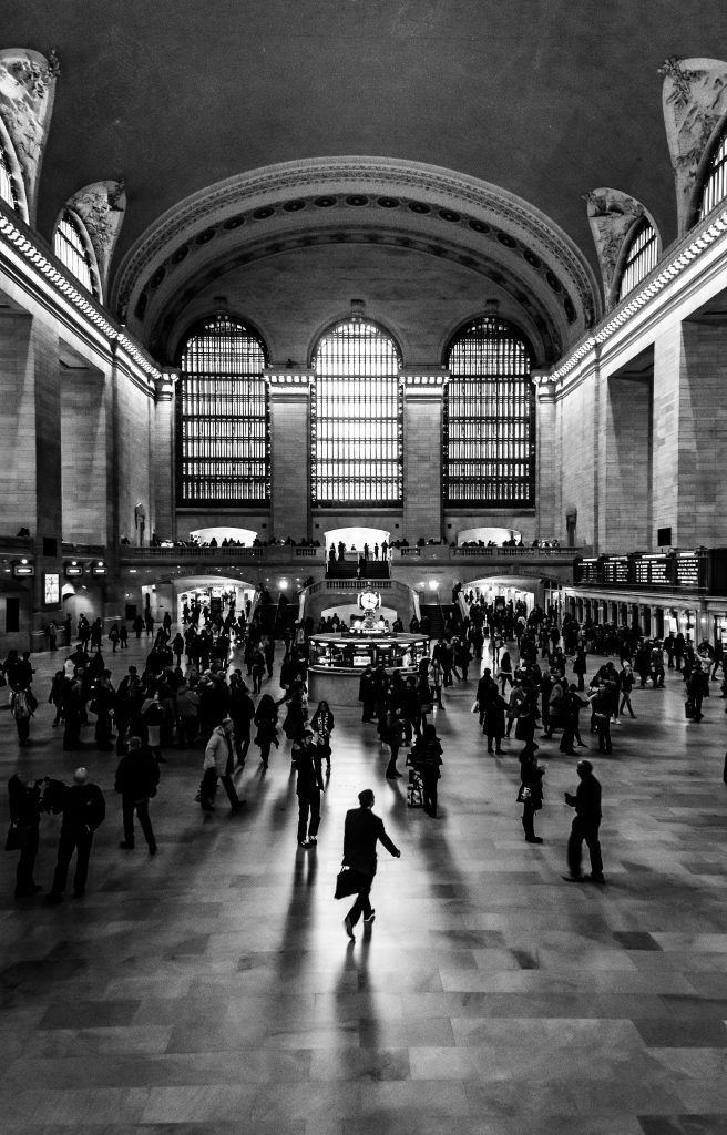 The great hall in Grand Central Station