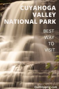 Discover the best way to see Cuyahoga Valley National Park if you are in the Cleveland, Ohio area