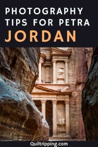 Use these photography tips for your bucket list trip to Petra Jordan