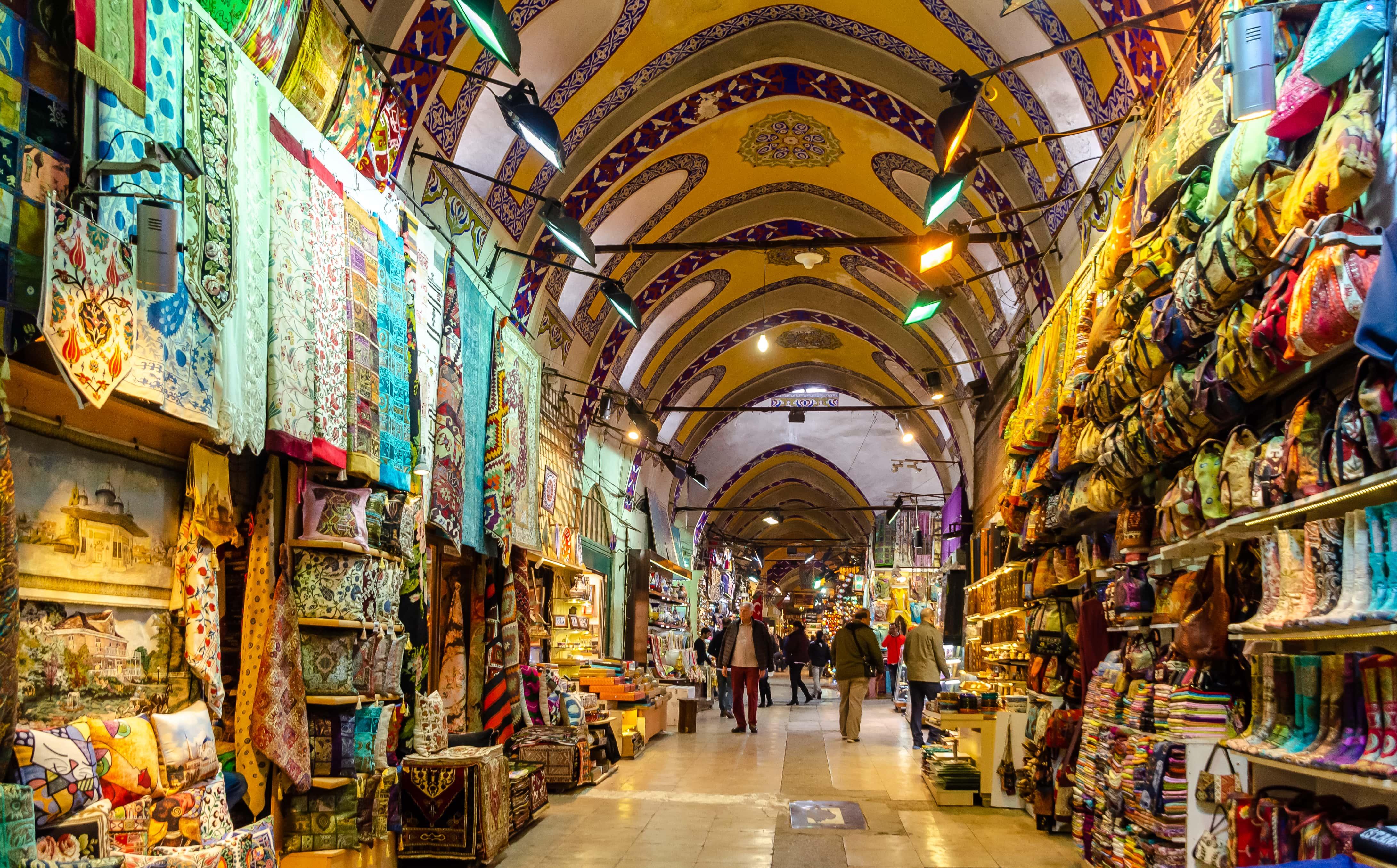 PhotoPOSTcard: In Istanbul's Grand Bazaar