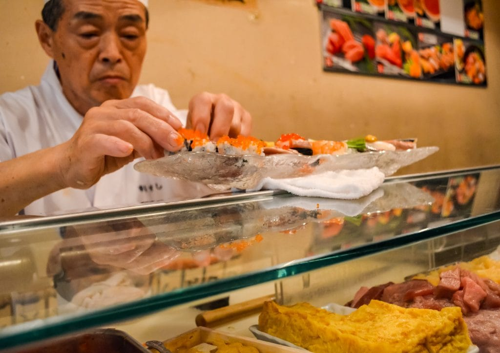 the fresh sushi chef