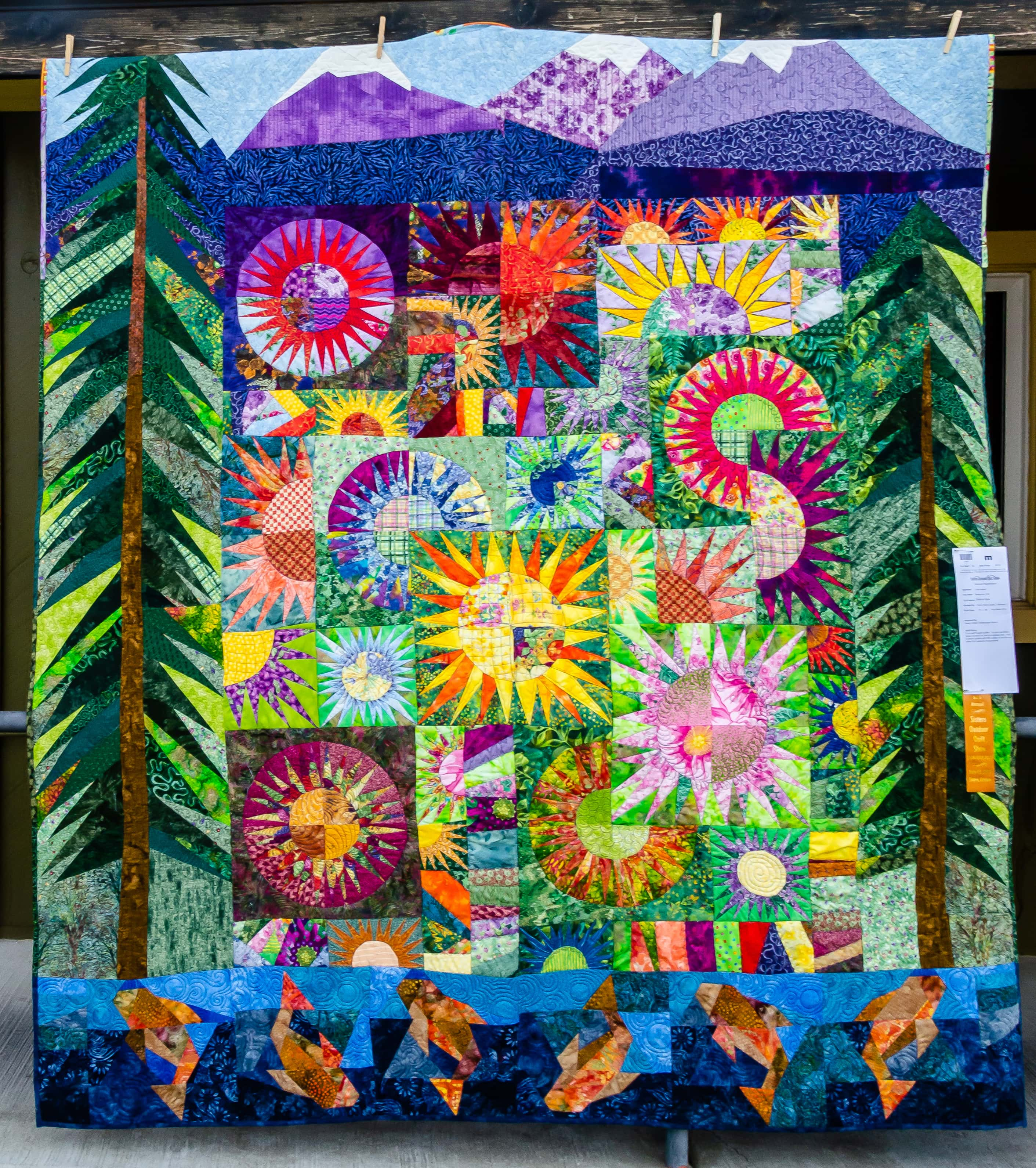 SISTERS, OREGON OUTDOOR QUILT SHOW